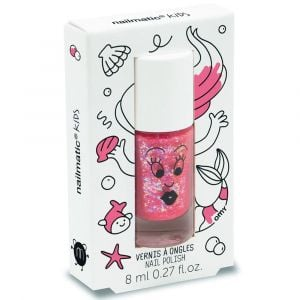 Nailmatic Kids Sissi Pink Glitter - Nail Polish