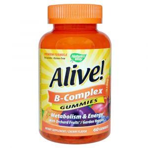 Nature's Way Alive B-Complex Gummy 60s