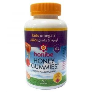 Honibe Kids Honey Gummies Omega 3