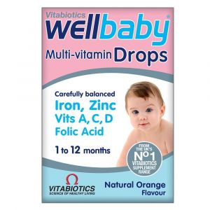 Vitabiotics Wellbaby Multivitamin Drops 30ml