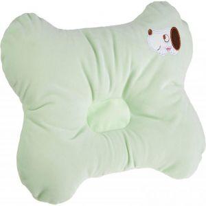 Night Angel Green Puppy Baby Pillow