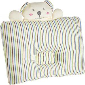 Night Angel Stripe Bear Baby Pillow