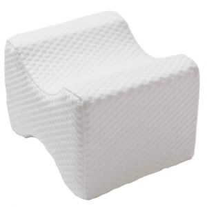 Novimed Medical Orthopedic Knee Pillow With Washable Cover - White