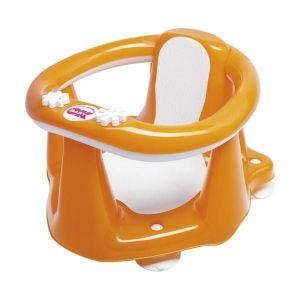 Okbaby Flipper Evolution Bath Seat with Slip-Free Rubber - Orange