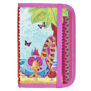 Okiedog Wildpack Passport Holder - Parrot