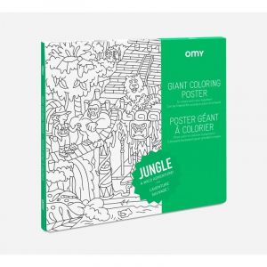 OMY Jungle Giant Coloring Poster