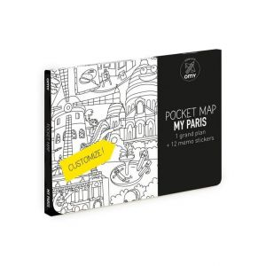 OMY Paris Pocket Map