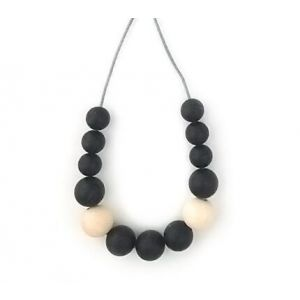 One.Chew.Three Evie Necklace - Black
