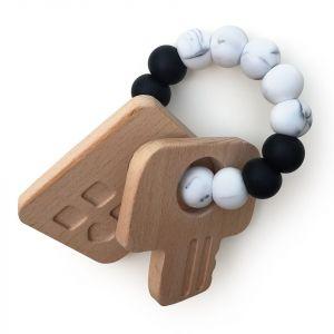 One.Chew.Three Keys Teether - Mono