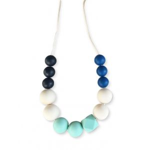 One.Chew.Three Mia Necklace - Mint