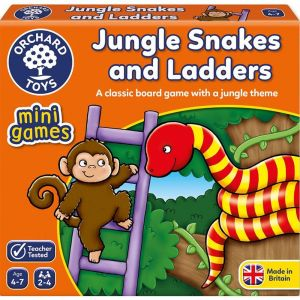 Orchard Mini Games: Jungle Snake And Ladders