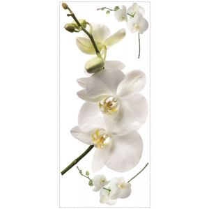 Room mates White Orchid Appliques Wall Decals