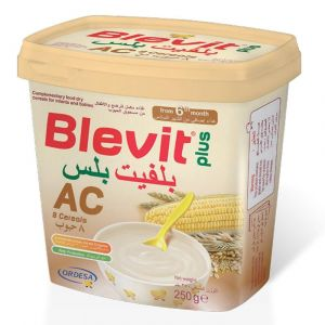 Blevit Plus Ac 250 gm Dry Cereals - Milk Free (from 6 months)