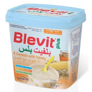 Blevit Plus Cereals 8 Cereals With Honey