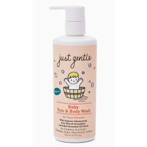 Just Gentle Organic Baby Hair & Body Wash -Lavender Scent