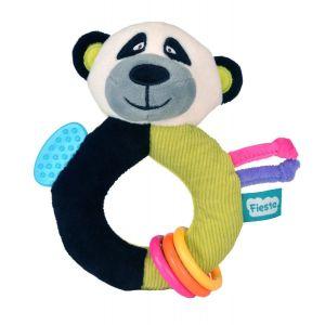 Fiesta Crafts Ringaling Panda Soft Toy
