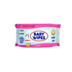 Pigeon Scented 20 Sheets Baby Wipes