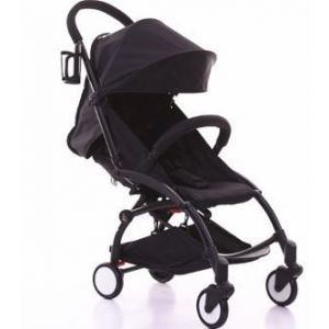 Pikkaboo Black Smart B-Light Stroller