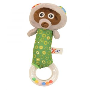 Pixie Baby Racoon Rattle Toy
