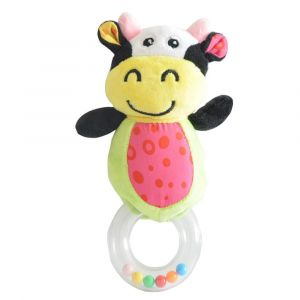 Pixie Cow Rattle Toy
