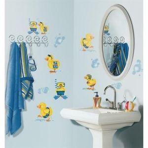 RoomMates Bubble Bath Peel & Stick Wall Decals