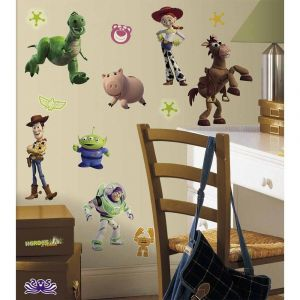 RoomMatess Toy Story 3 Glow in the Dark Wall Decals