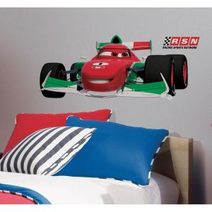 RoomMatess Cars II Francesco Peel & Stick Giant Wall Decal