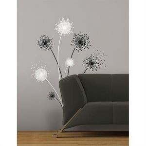 RoomMates Graphic Dandelion Giant Wall Decal
