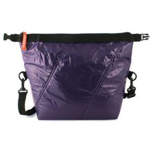 Roll Top Bag Dark Purple