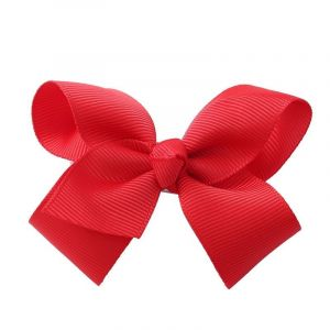 Red Fashion Hair Bow Hair Clip