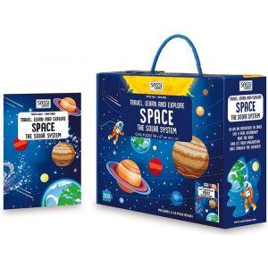 Sassi Junior Travel, Learn and Explore Puzzle - Space