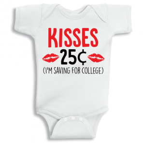 Twinkle Hands Saving for college baby girl Baby Onesie, Bodysuit, Romper