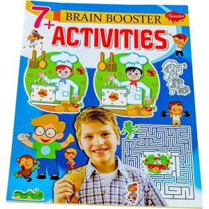 Sawan Brain Booster Activities 7+ - Children's Book