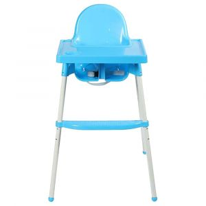 Teknum Blue High Chair With Removable Tray