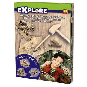 Ses Explore Children's Excavate Dinos Set