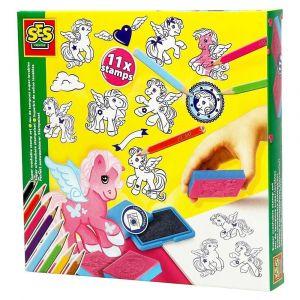 Ses Fantasy Stamp Set Super Washable