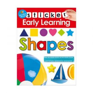 Early Learning Sticker - Shapes