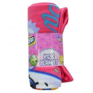 Shopkins Pink Party Polar Fleece Blanket