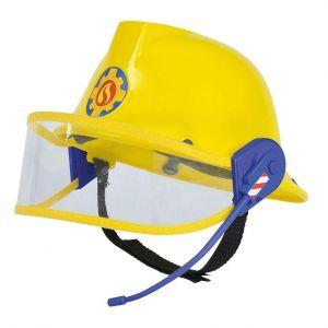 Simba Fireman Sam Plastic Helmet W/ Microphone Toy