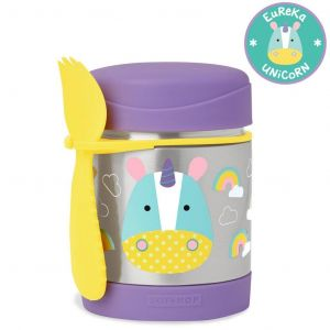Skip Hop Zoo Kid's Steel Food Jar - Unicorn