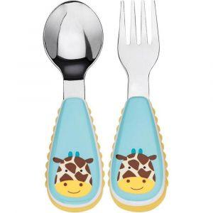 SkipHop Zootensils Fork & Spoon - Giraffe
