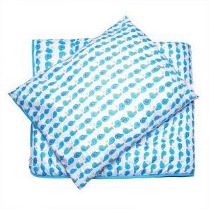 Smurfs 2Pc Blue Comforter Set 3-9 Years