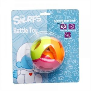 Smurfs Ball Rattle Toy