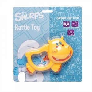 Smurfs Hippo Rattle Toy