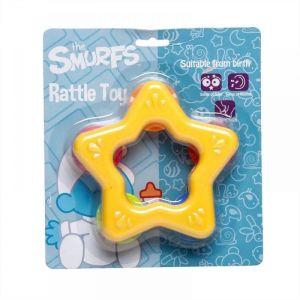 Smurfs Star Rattle Toy