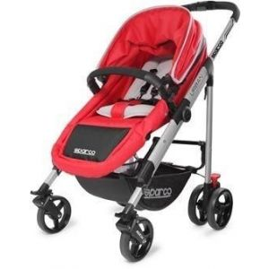 Sparco Red Urban Stroller