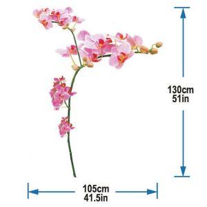 StickieArt Orchids Wall Decal - Medium - 50 x 70 cm