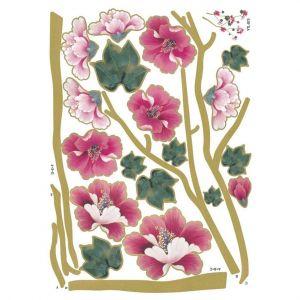 StickieArt Pink Tulips Wall Decal - Medium - 50 x 70 cm