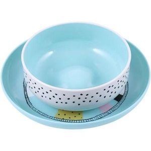 Suavinex Green Plate and Bowl - +6m