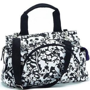Summer Infant, Black/White Easton Diaper Tote Bag